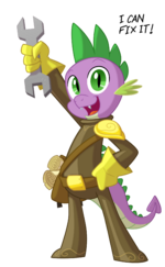 Spike by artist-equestria-prevails