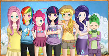 My little pony friendship is magic by noirinmarudon-d4u6fiu