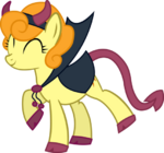 Carrot Top devil costume in Nightmare Night by artist-quanno3