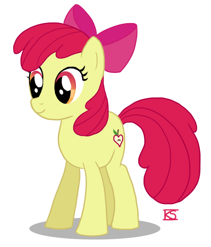 My Little Pony Friendship Is Magic Baby Apple Bloom Image - Apple Bloom's ...