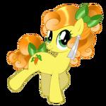 Carrot Top Crystal Pony