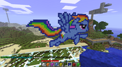 FANMADE Rainbow Dash Minecraft