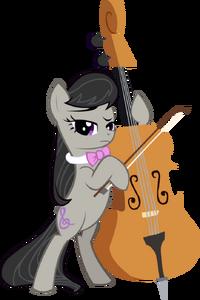 Octavia standing vector