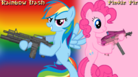 Pinkie Pie x Rainbow Dash wallpaper