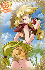 Applejack by mauroz