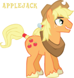 Profile Applejack 1 by Trotsworth