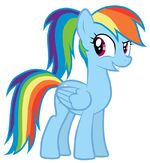 Rainbow Dash's new hairstyle