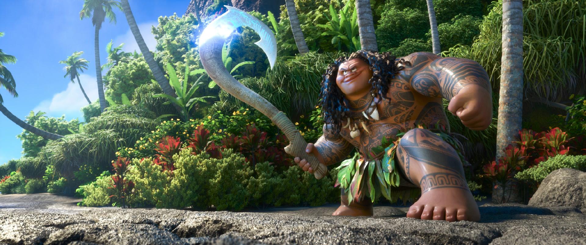 Maui 39 s fish hook moana wikia fandom powered by wikia for Maui fish hook moana