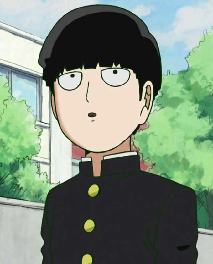 Image result for mob psycho 100 mob awkward