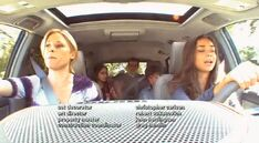 Haley, driving with Claire, Phil and her siblings