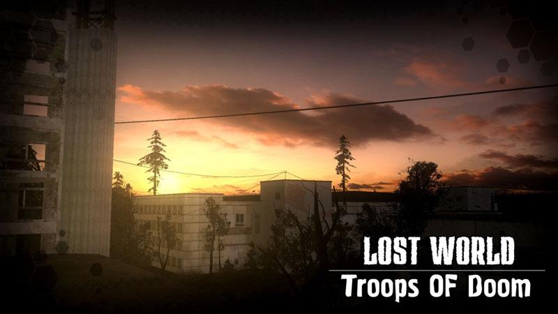Lost World Trops Of Doom Карта Переходов