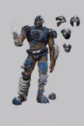 Assault Outlander Gear Concept Art