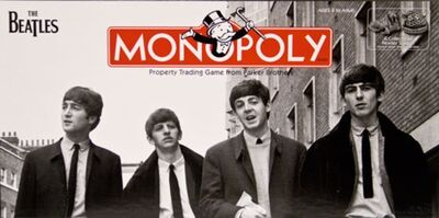 The Beatles Monopoly box
