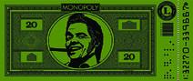 BttF Monopoly Money $20