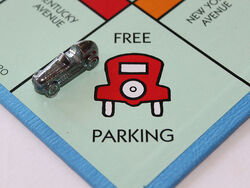 Free parking shot