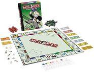 Monopoly bookshelf
