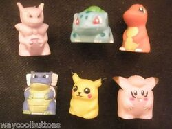 Monopoly Pokemon Tokens colour