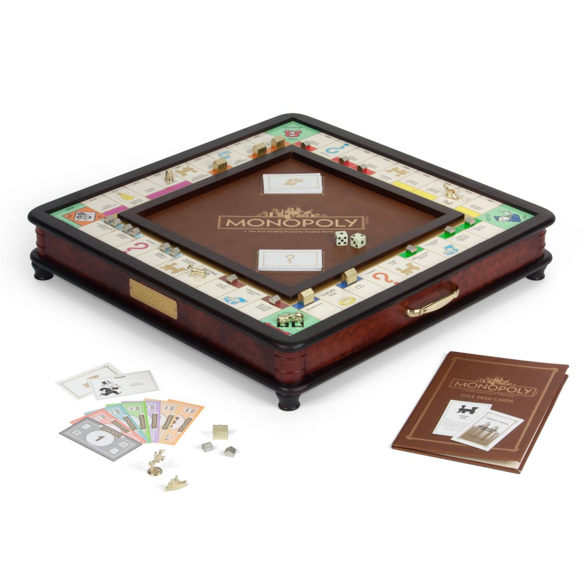 Monopoly Luxury Edition is an
