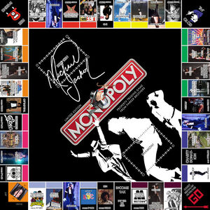 Michael Jackson Monopoly by LordDavid04