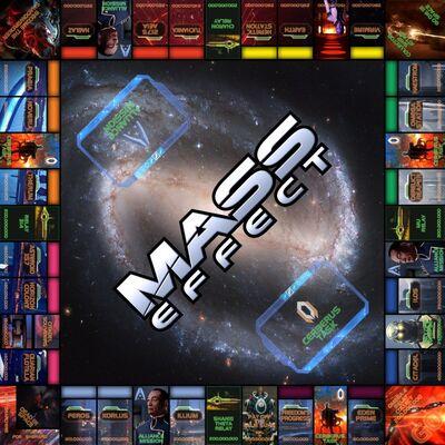 Monopoly Mass Effect Custom Board