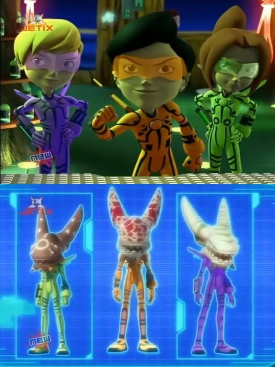 The monster beater club monster buster club fandom - Monster buster club alien ...