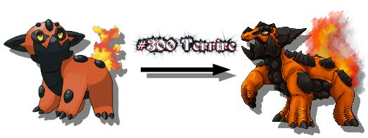 New Monster Redrawn Terrire