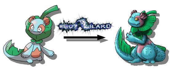 New Monster Redrawn Lilard