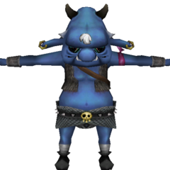 A Blue Bokoblin from <i>Skyward Sword</i>