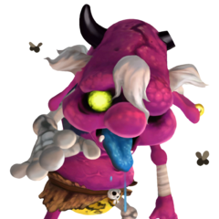 A Cursed Bokoblin from <i>Skyward Sword</i>