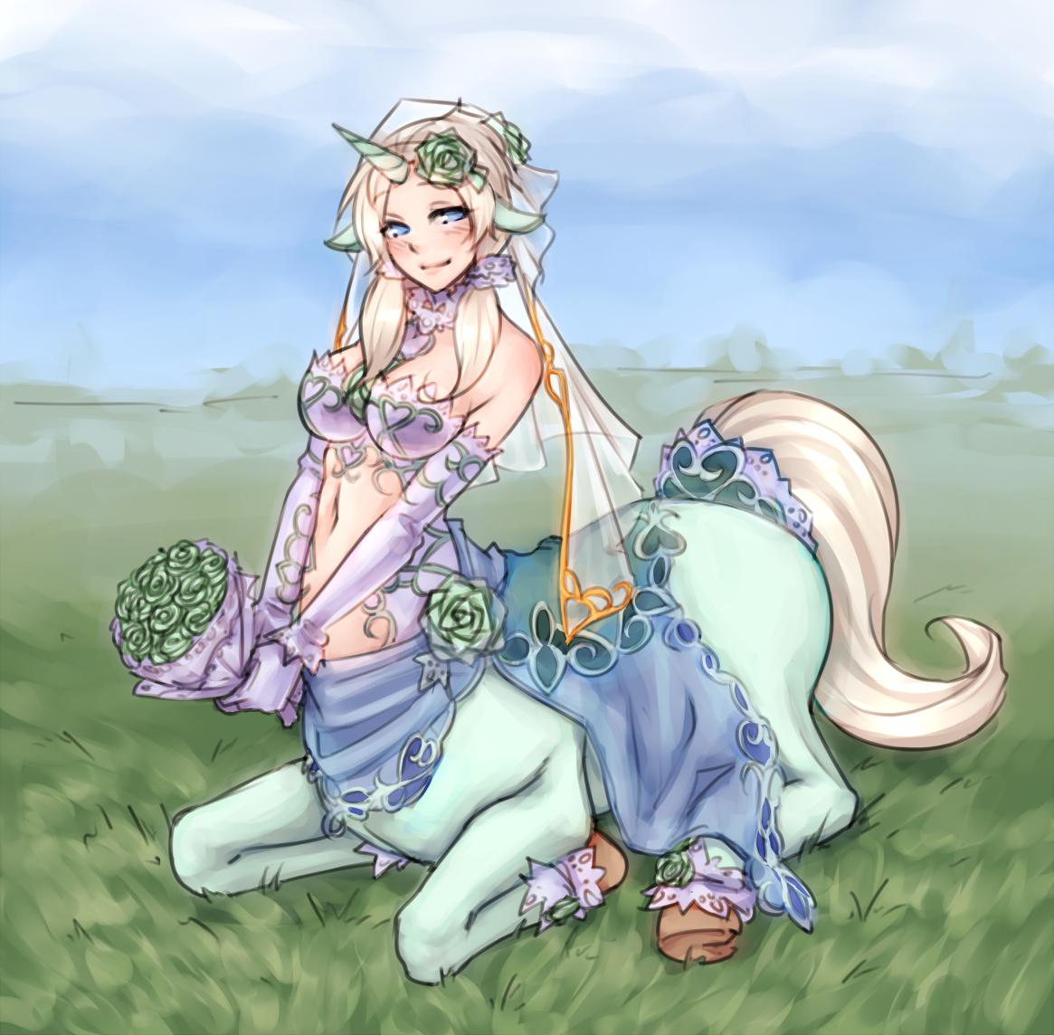 Horse monster girl erotica image