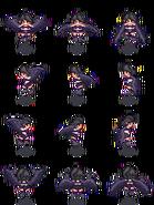 Black harpy monster girl sprit by tsarcube-d3hi6d8