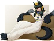 Anubis White Robe