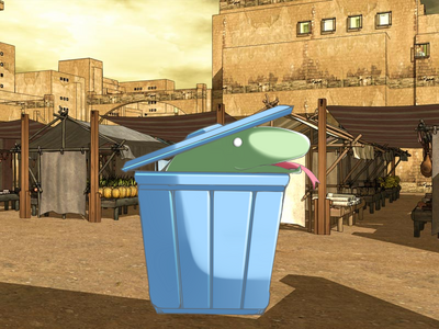 Amira Trash Can