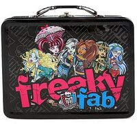 Tin Lunch Box -Freaky Fab-