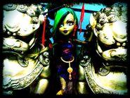 Diorama - Jinafire's statues