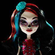 Diorama - Skelita's closeup