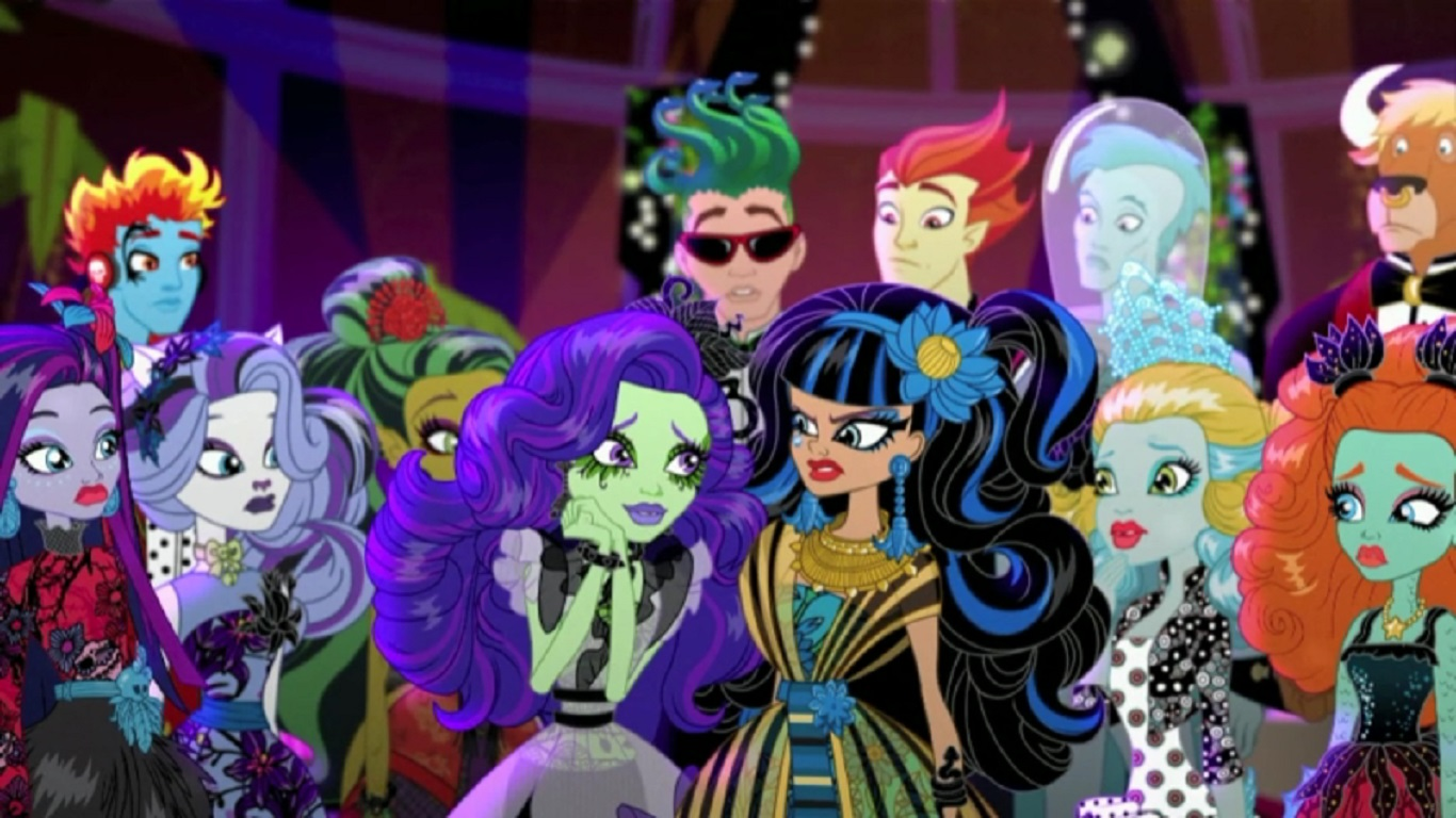 Gloom And Bloom Part 2 Monster High Wiki Fandom