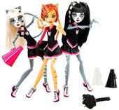 Doll stockphotography - Go Monster High Team!!! second 3-pack