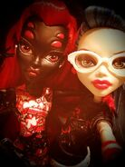 Diorama - superhero student selfie