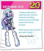 2013 screams - Abbey Bominable