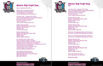 Website - Fright Song lyrics