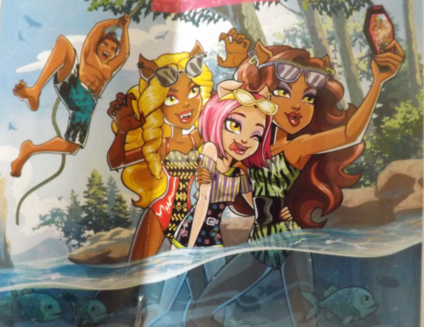 monster high figurine collection diary entires monster