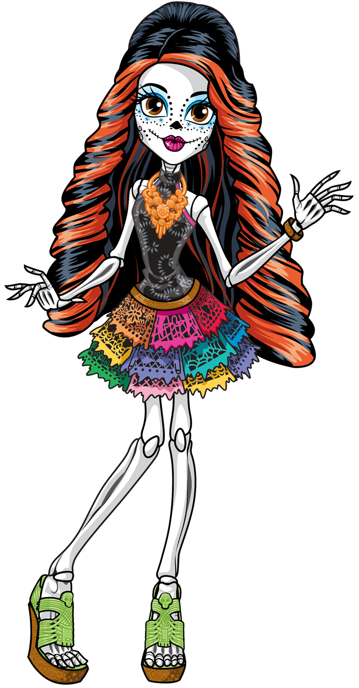 skelita calaveras monster high wiki fandom powered by wikia. Black Bedroom Furniture Sets. Home Design Ideas