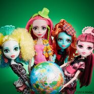 Diorama - Ghouls' globus