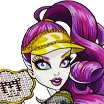 Spectra Vondergeist S Ghoul Sports Notebook Monster High