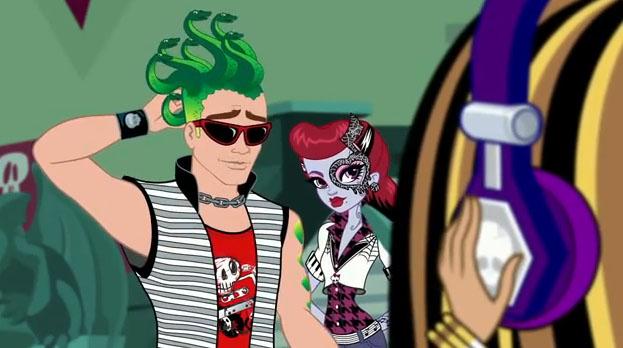 Here comes treble monster high wiki fandom powered by - Monster high deuce gorgon ...