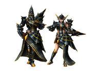 FrontierGen-Meragi Armor (Gunner) Render 2