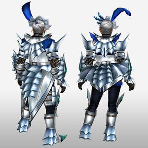 FrontierGen-Akura U Armor 004 (Blademaster) (Back) Render