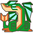 MH3U-Green Plesioth Icon