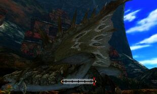 MH4U-Rathian Left Wing Break 001